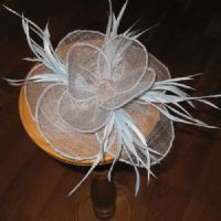 Alice Blue Fascinator - 285
